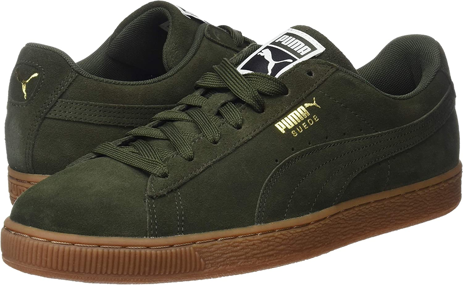 PUMA Unisex Adults/' Suede Classic Low-Top Sneakers