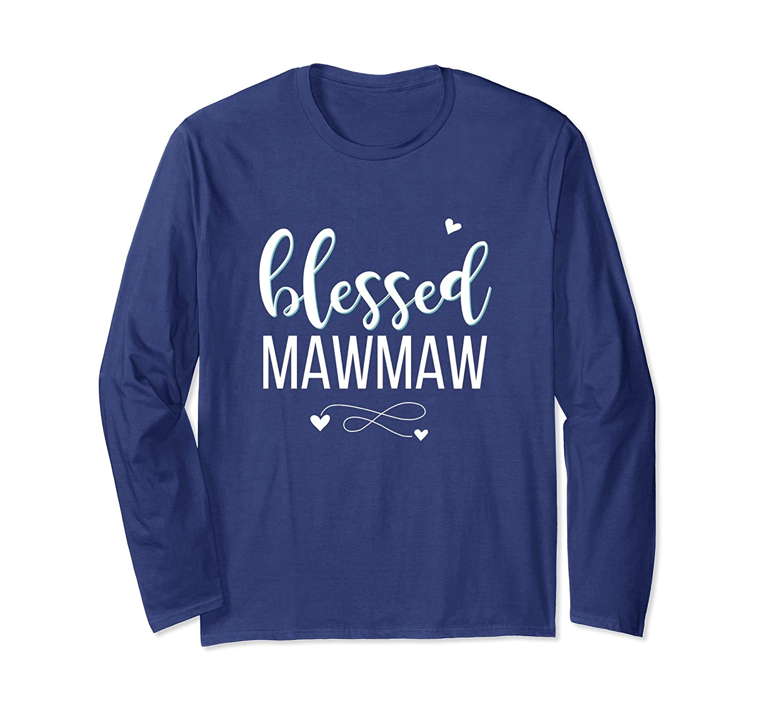 Blessed Mawmaw Christian Long Sleeve T Shirt Gift Apparel-alottee gift