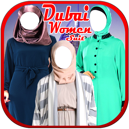 Dubai Women Suit New (Scarf Abaya)