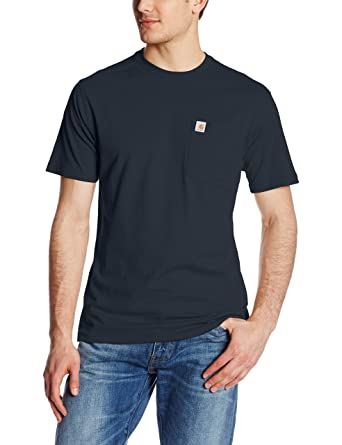 af72fec2b Amazon.com: Carhartt Men's Maddock Pocket Short-Sleeve T-Shirt: Clothing