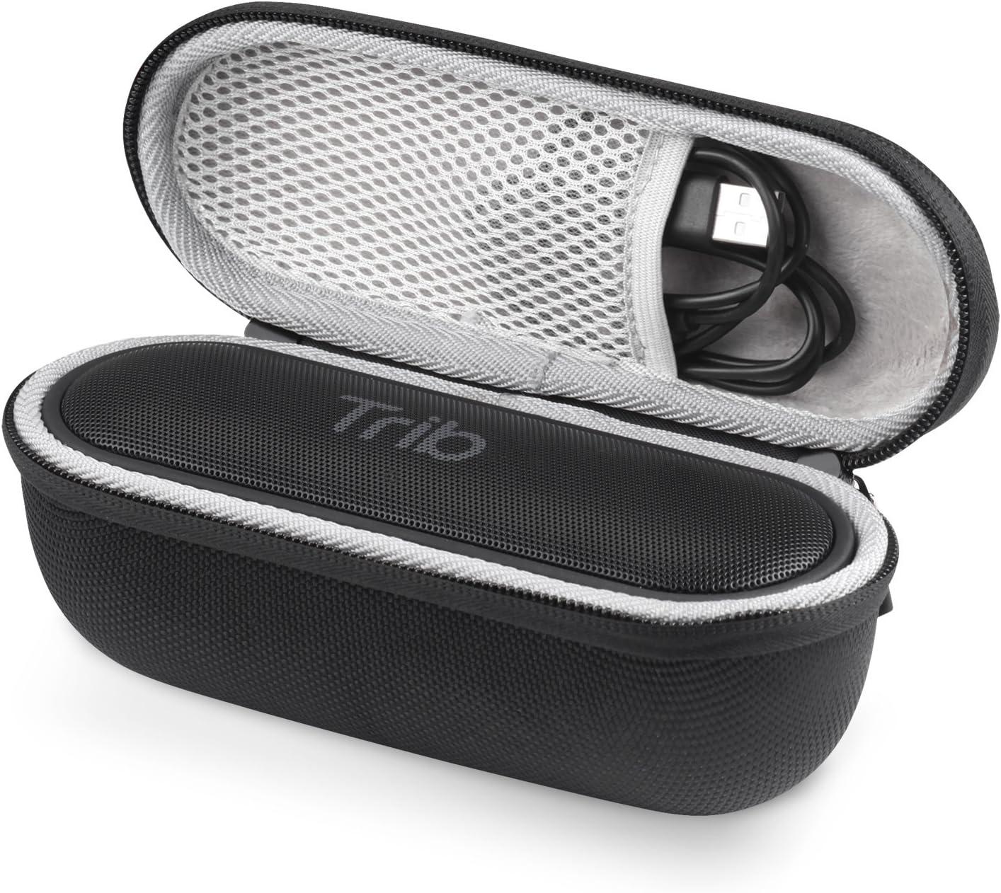 Tribit XSound Go Case, MaiYi Hard EVA Travel Carrying Case Protective Storage Bag for Tribit XSound Go Portable Bluetooth Speaker