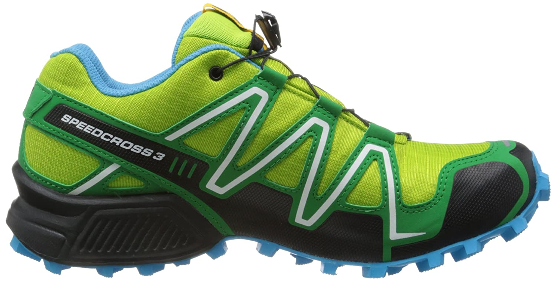 promo code df503 a3148 Amazon.com   Salomon Speedcross 3 GTX Trail Running Shoe - Backcountry  Exclusive - Men s Organic Green Clover Green Fluo Blue, 11.0   Trail Running