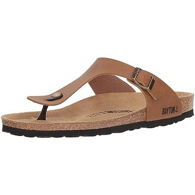 Amazon.com | BAYTON Men's MERCURE Sandal, Camel, 40 Medium EU (7 US) | Sandals