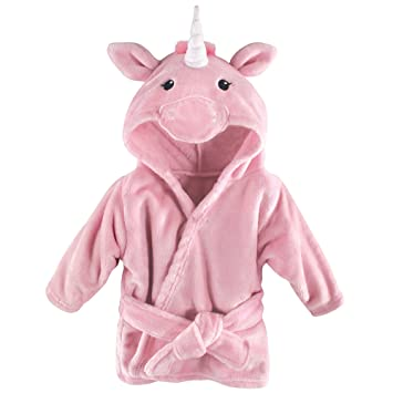 767286e0f5 Amazon.com  Hudson Baby Soft Plush Baby Bathrobe