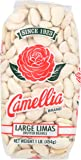 Camellia Large Dry Lima Beans 1 Pound Bag