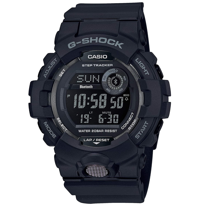 Amazon.com: G-Shock Mens GBD800-1 Bluetooth G-Squad Digital Watch, Black/Red (BLKRED/1), One Size: Watches