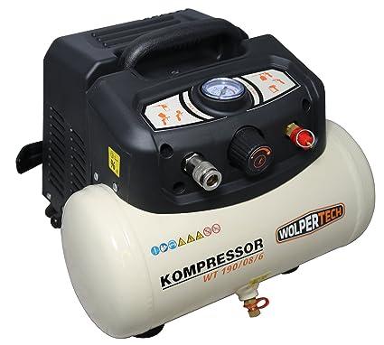 Wolpe rtech 3020 Compresor WT 190/08/6, 1100 W, 230 V