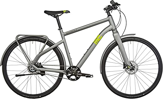 Ghost Square Urban 4 - Bicicleta urbana - amarillo/gris Tamaño del ...