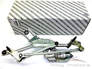 Original Fiat Grande Punto (199) Borrador del Motor Motor de limpiaparabrisas (AB BJ. 2005 - 51881061: Amazon.es: Coche y moto