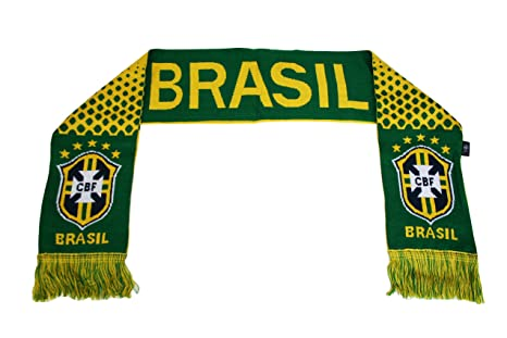 4894826ea9d Image Unavailable. Image not available for. Color  Rhinox World Cup Soccer  Brazil Scarf