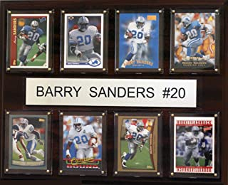 product image for NFL Detroit Lions Barry Sanders 8 Card Plaque