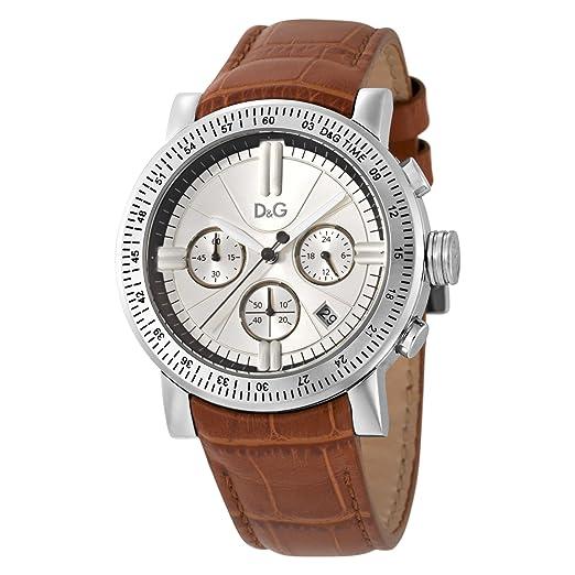 Dolce & Gabbana - Reloj de caballero, correa de piel - color marrón