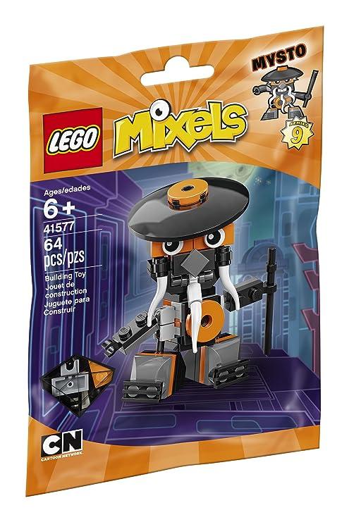 Amazon Lego Mixels 41577 Mysto Building Kit 64 Piece Toys