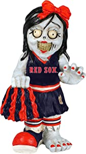 FOCO MLB Boston Red Sox Resin Cheerleader Zombie Figurine