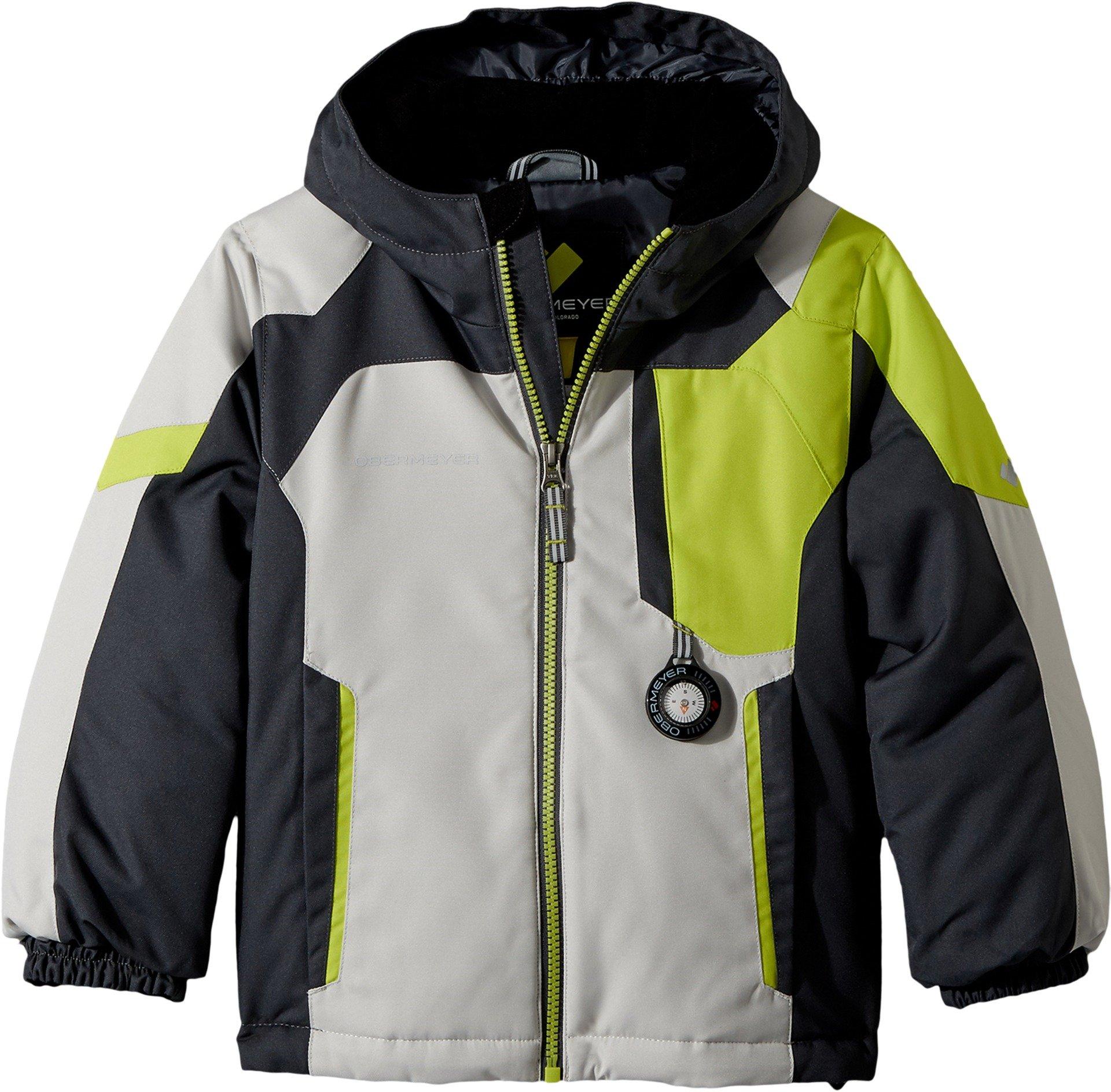 Obermeyer Kids  Baby Boy's Scout Jacket (Toddler/Little Kids/Big Kids) Fog 4T