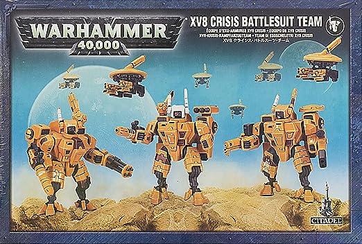 XV8 Crisis Battlesuits 40K Tau Empire Warhammer Battle Suits NIB FREE SHIPPING!!