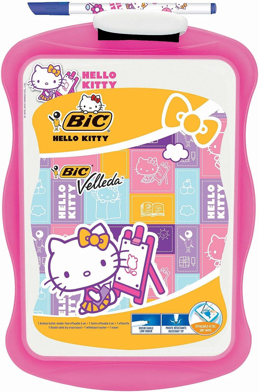 Bic 894121 - Pizarra Velleda Hello Kitty, 30 x 20 cm, con rotulador (894121) - Hello Kitty pizarra Velleda marcador + borrador