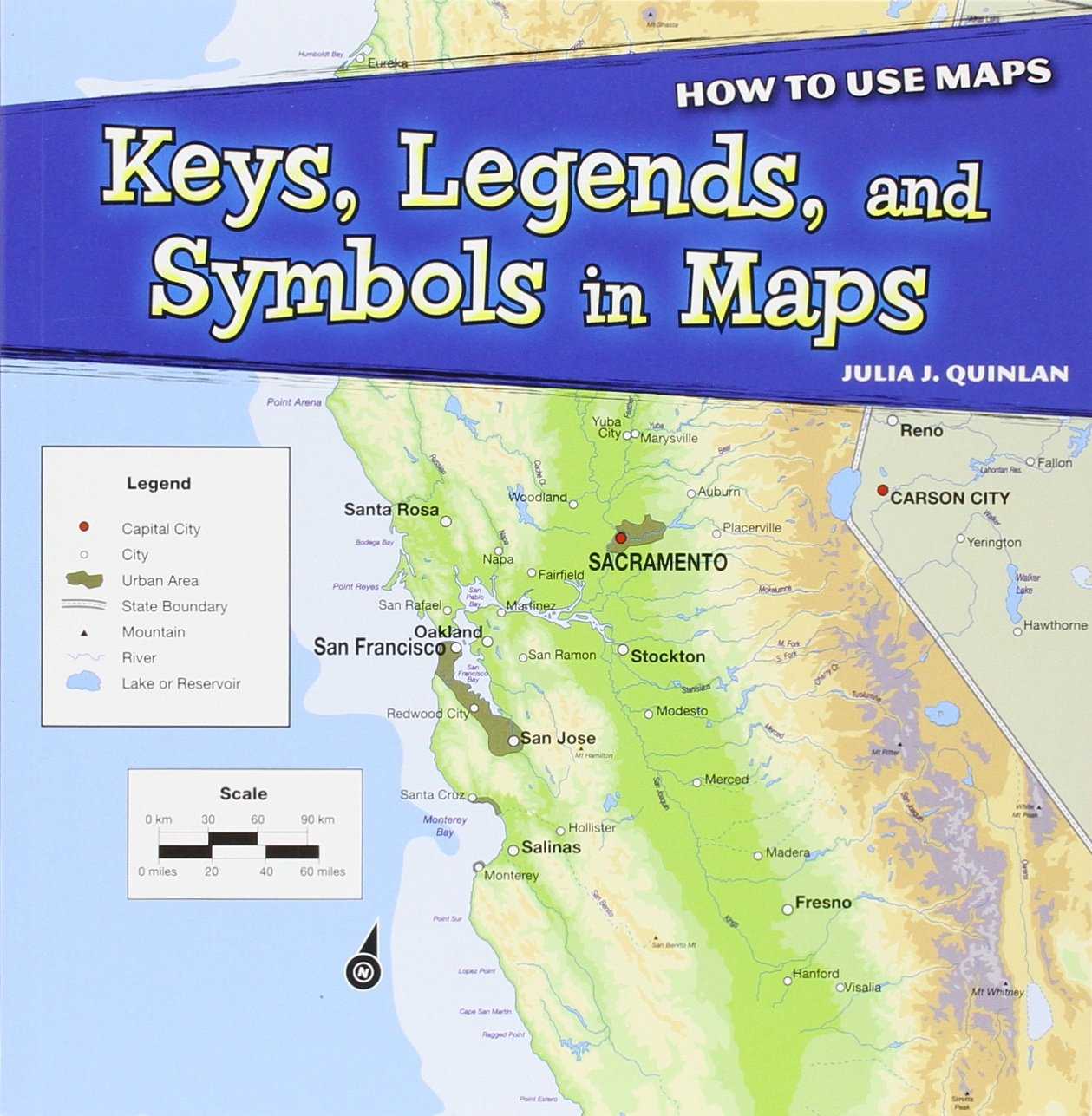 Keys Legends And Symbols In Maps How To Use Maps Powerkids Quinlan Julia J 9781448862665 Amazon Com Books