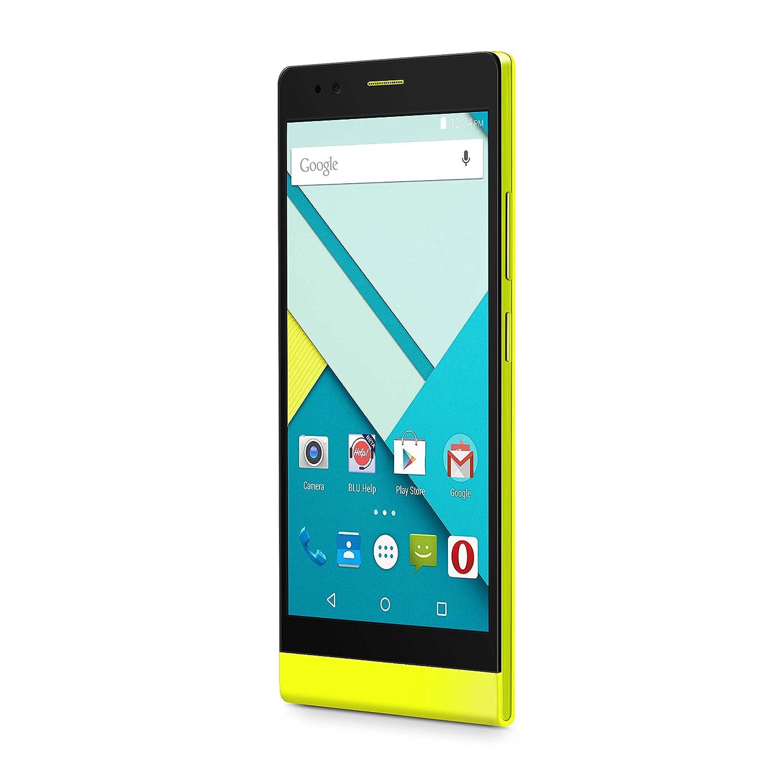 Amazon.com: BLU Life 8 XL Smartphone - Unlocked - US GSM - Yellow: Cell Phones & Accessories