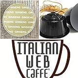 32 capsule CAFFE' AL GINSENG compatibili Nescafè Dolce gusto