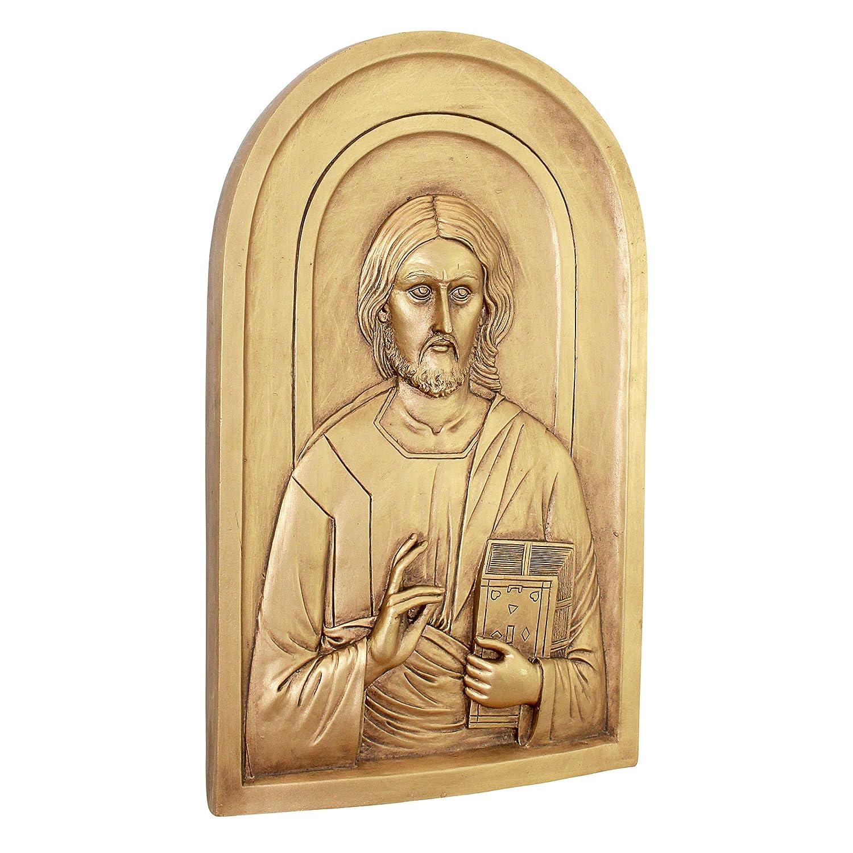 Amazon.com: Design Toscano Jesus the Christ Orthodox Iconography ...