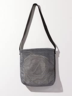 Mesh Shoulder Bag 1432-699-4766: Black