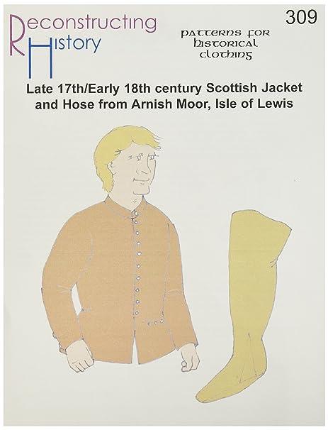 XVII/principios del siglo XVIII traje escocés de arnish Moor/Isla ...