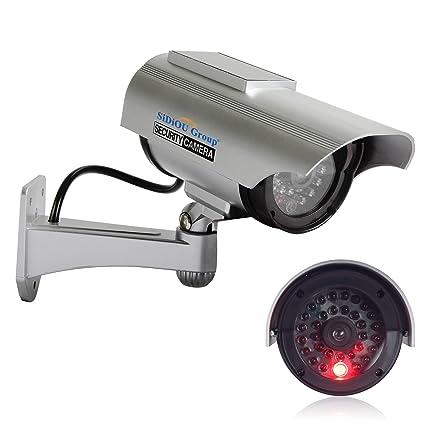 Sidiou Group Nuevo estilo simulación solar monitor Cámara de simulación cámaras de vigilancia falsas Cámara virtual