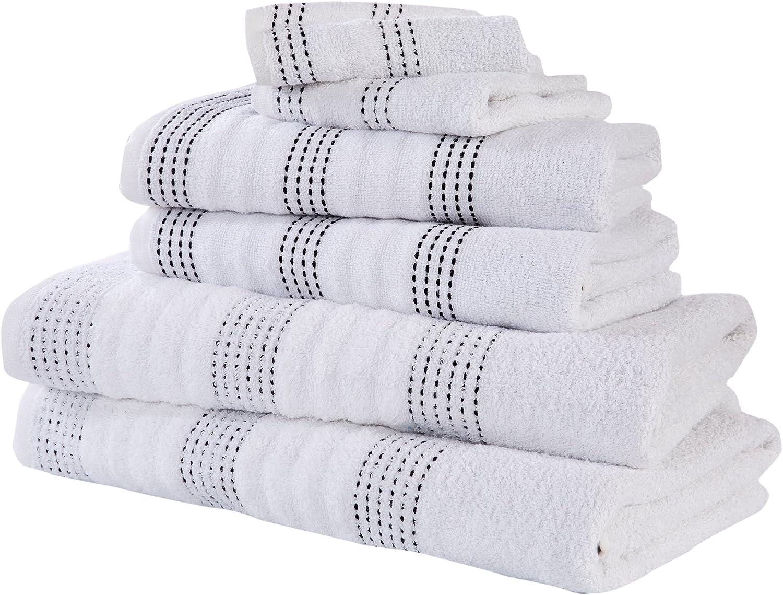 100/% Cotone/ /Bianco /Set di Asciugamani Rapport Spa/