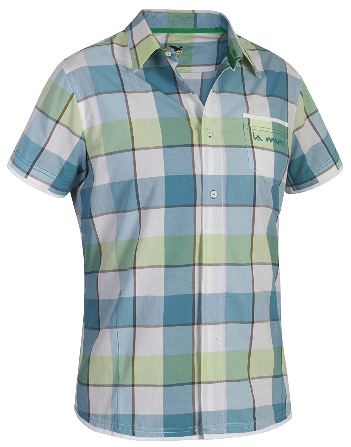 Salewa Herren Shirt Henry Dry Am Short Sleeve 827