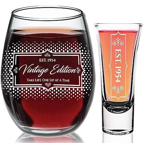 Amazon.com: Copa de vino - Regalos de cumpleaños para ...