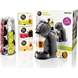 Nescafé Dolce Gusto Mini Me Coffee Machine Starter Kit, 1500 W, Black and Grey