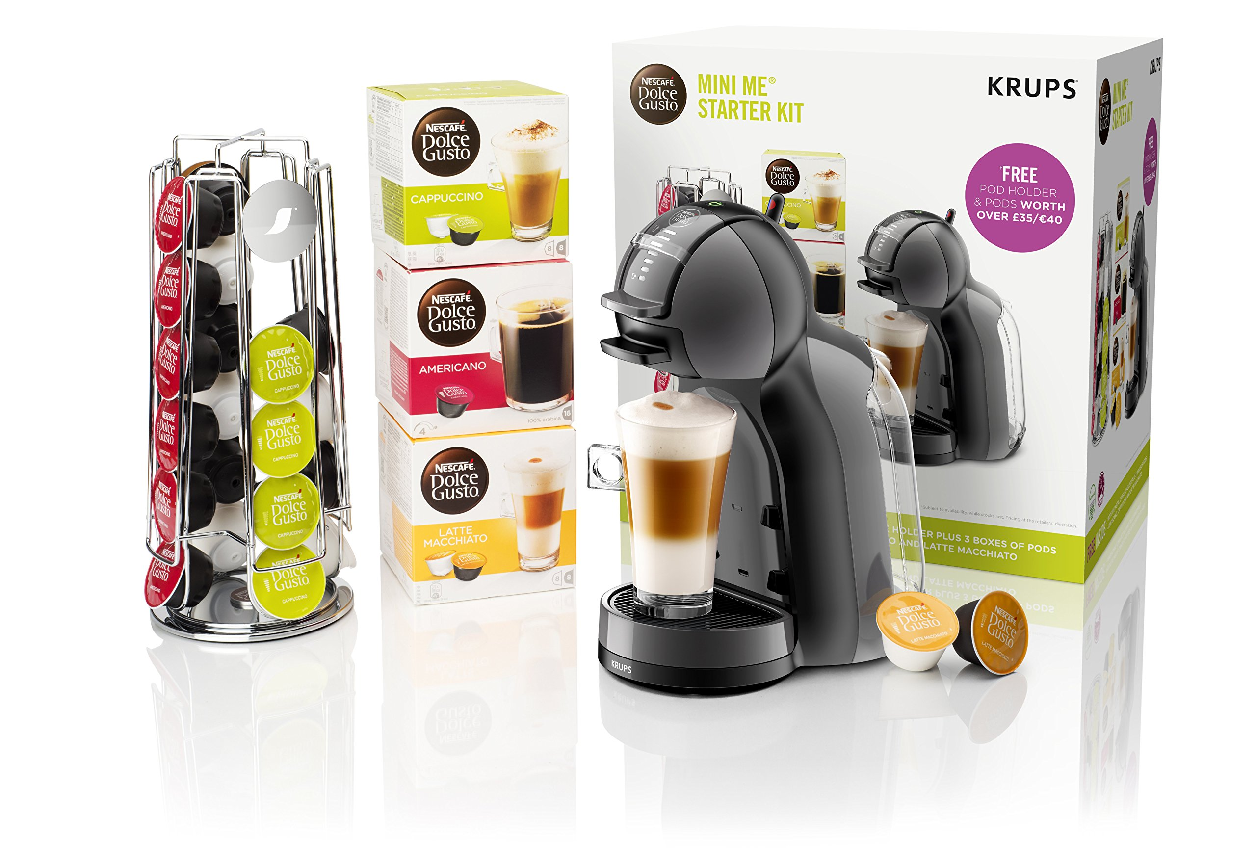 Delonghi Krups Nescafe Dolce Gusto Support Door Capsules Coffee Small