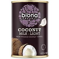 Biona Organic Coconut Milk, Light 9% fat , 400 ml