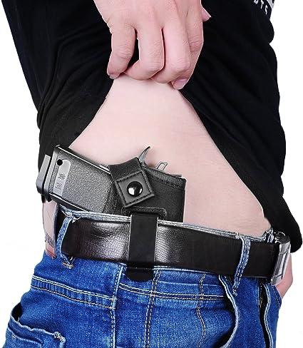 Jiazeal Cartuchera Para Concealed Carry Neopreno Cintura Banda Handgun Carrying Sistema Elástico Soporte De Pistola Para Pistolas Revólveres De Mano Para Hombres Y Mujeres Tamaño Estándar Sports Outdoors