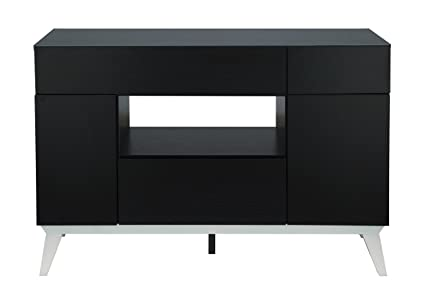 Superbe IoHOMES Giulia Modern Buffet Table, Black