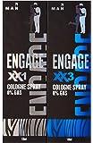Engage Cologne, XX1, 135ml with Engage Cologne, XX3, 135ml