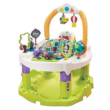 12492be45702 Amazon.com   Evenflo ExerSaucer World Explorer Triple Fun Saucer   Baby