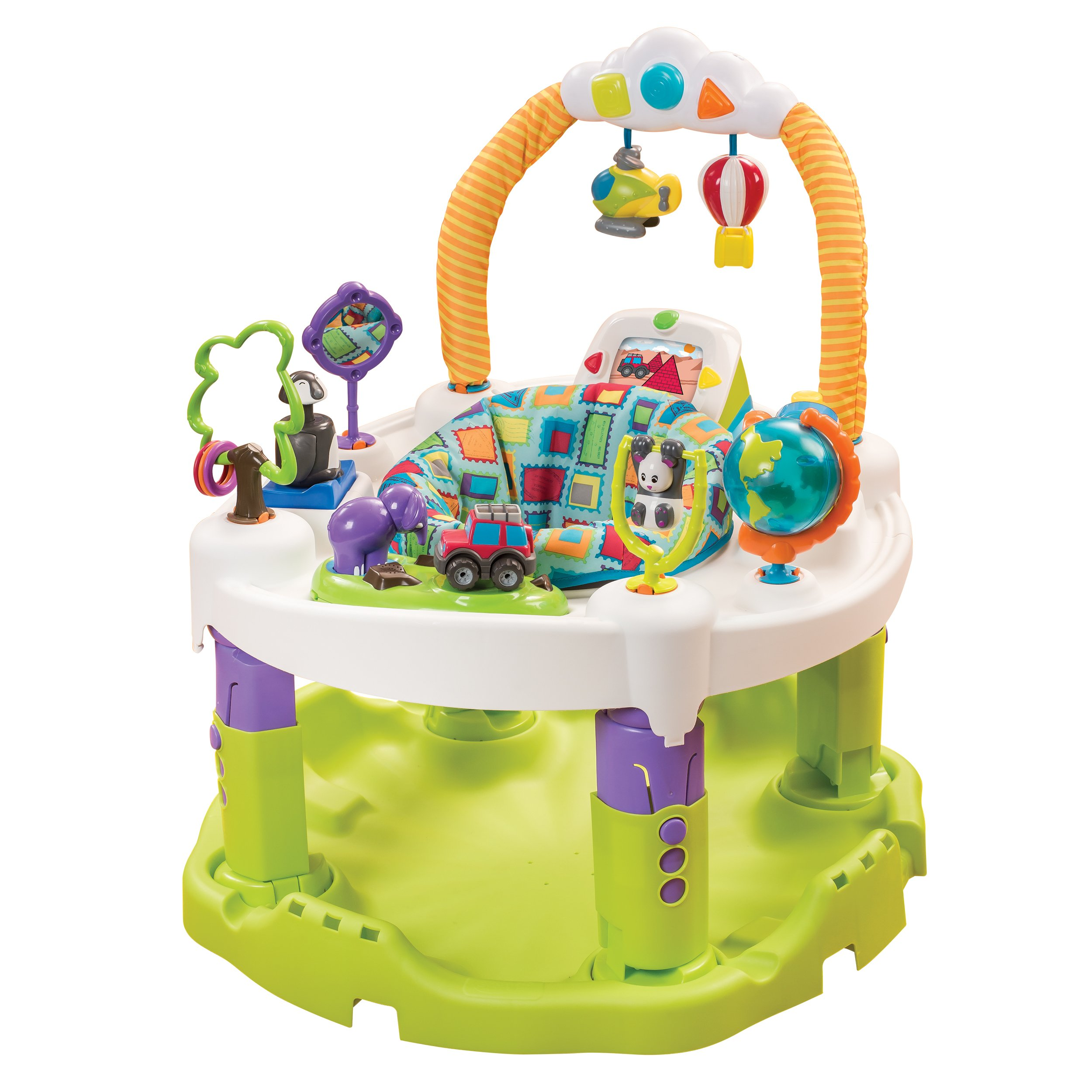 Amazon Com Evenflo Exersaucer Triple Fun Active Learning