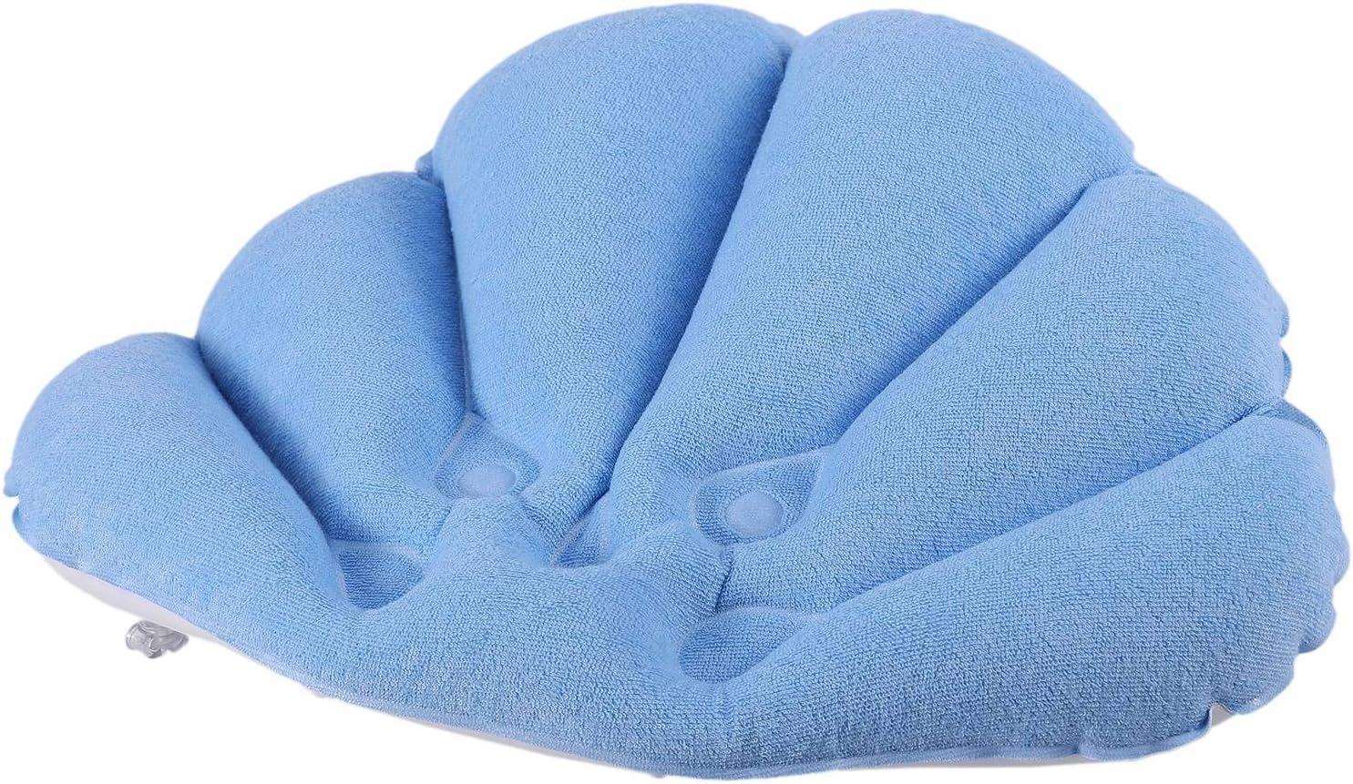 colore casuale cuscino morbido con ventose Cuscino da bagno gonfiabile Kamenda per bagno e vasca da bagno