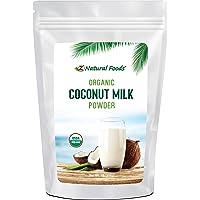 Z Natural Foods – Polvo de leche de coco orgánico – Kosher, vegano, fresco, sin gluten, totalmente natural, sin lácteos, sin OMG, Keto, Paleo Diet Friendly 454g