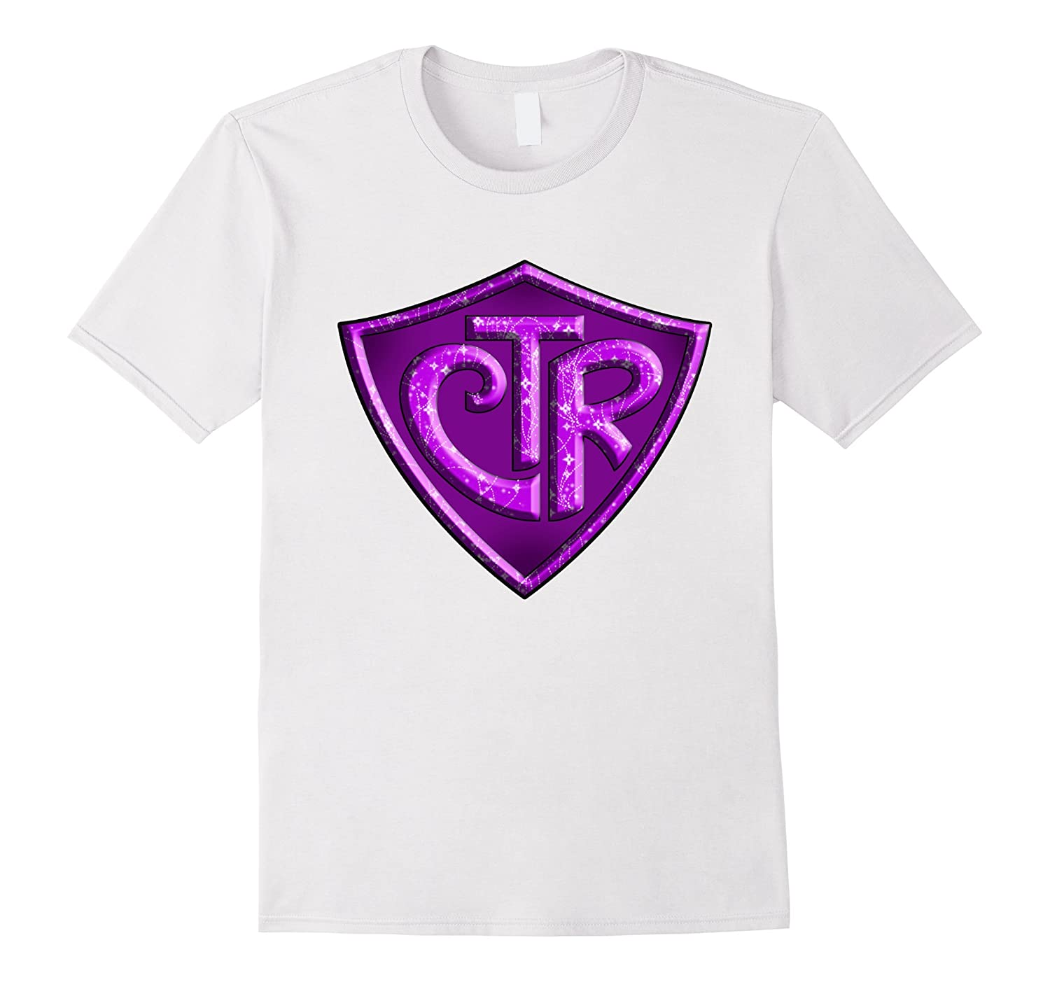 f7f64bd366e8 CTR - Choose The Right LDS Mormon T-Shirt - Purple Glitter-ANZ ...