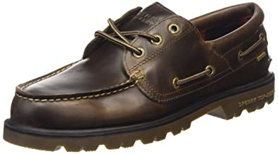 Sperry Top-Sider A/O Lug 3 Eye Wp, Men's Boat Shoes,