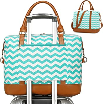 Christmas-holiday Travel Carry-on Luggage Weekender Bag Overnight Tote Flight Duffel In Trolley Handle