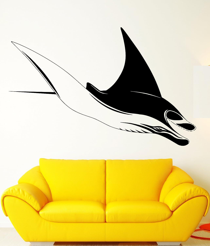 Amazon.com: Manta Ray Ocean Sea Marine Animal Art Decor Wall Mural ...