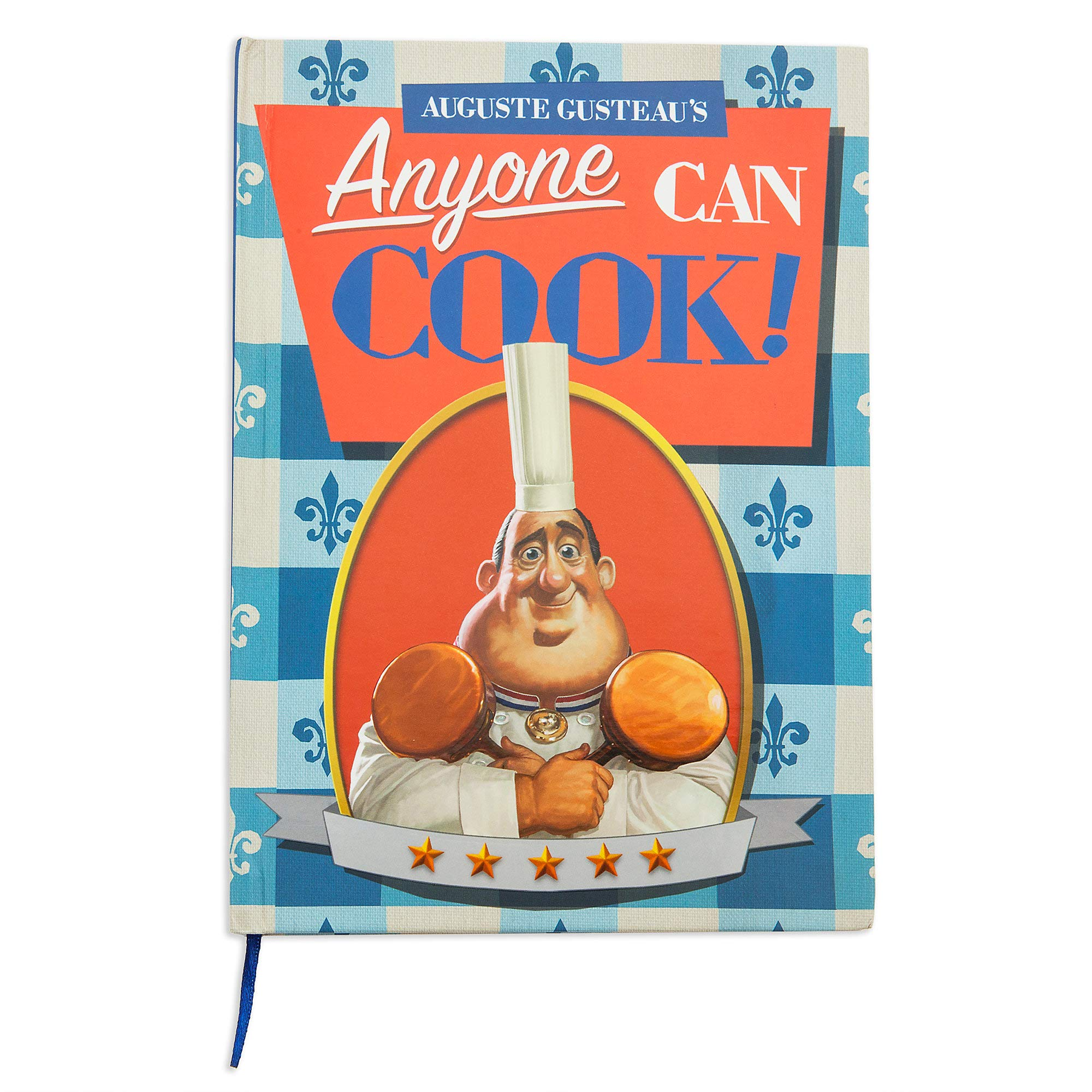 Disney Auguste Gusteau's ''Anyone Can Cook!'' Journal - Ratatouille No Color