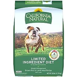 California Natural Low Fat Rice and Lamb Meal