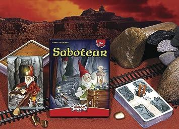 Amigo Spiele - Saboteur, Juego de Mesa (4900) [versión en alemán]: Amazon.es: Juguetes y juegos