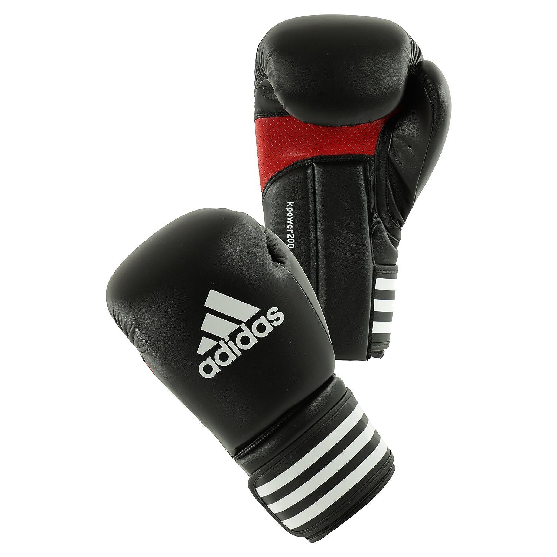 ADIDAS BOXING GLOVES KICKPOWER 200 Red/Black 16oz ADIKP200