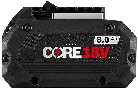 Amazon.com: Bosch GBA18V80 CORE18V 8.0 Ah - Batería de alto ...